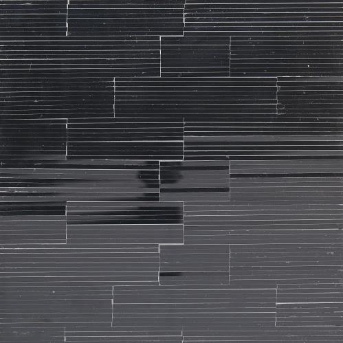 Bel Air Accent Table-Black/Black Mosaic
