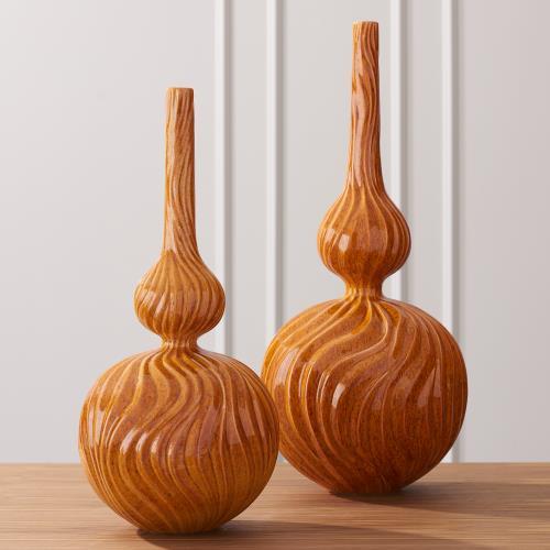 Magura Vase-Mandarin