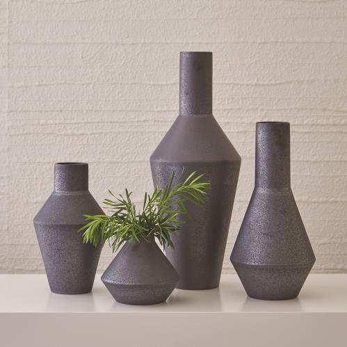 Shaker Vase-Graphite