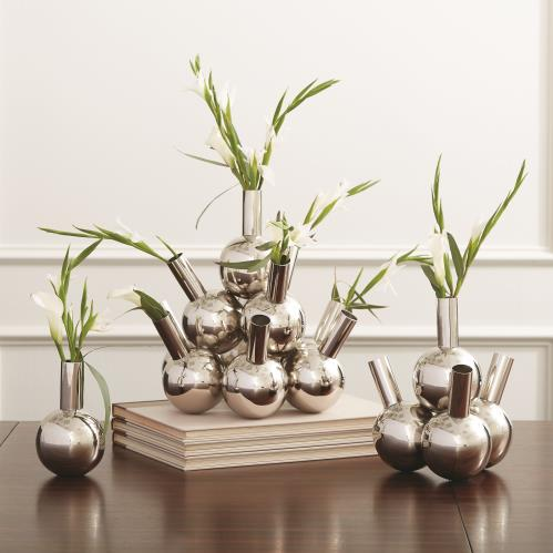 Bottle Vases-Nickel
