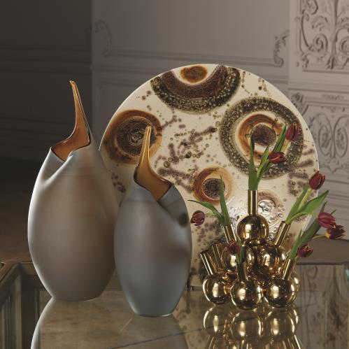 Bottle Vases-Brass