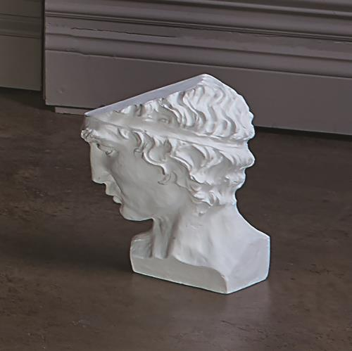 Roman Man Head Sculpture
