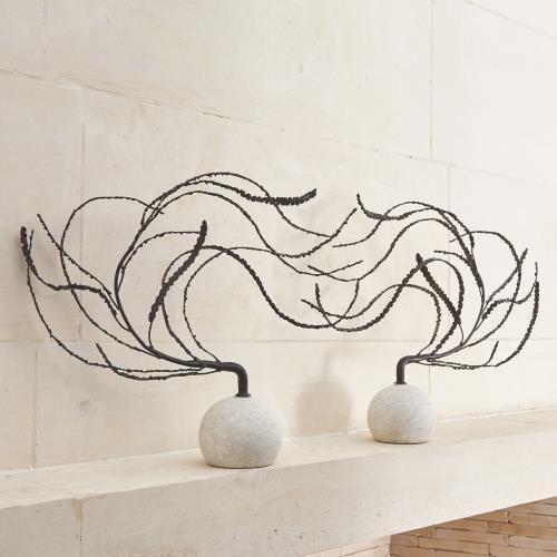 Iron Thistle Sculpture