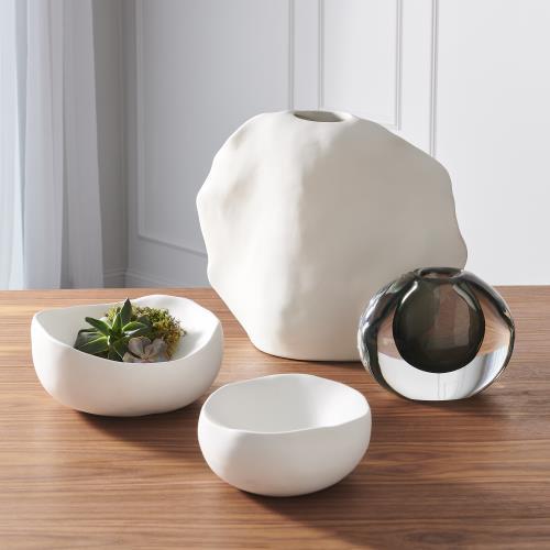 Kelp Vases - Matte White