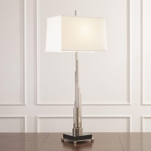 Metropolis Lamp-Nickel