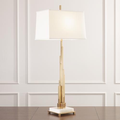 Metropolis Lamp-Brass