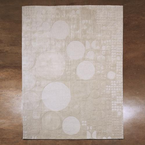 Dots Rugs - Grey
