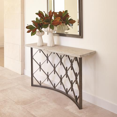 Sidney Console - Natural Iron