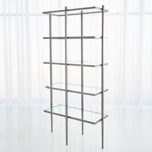 Laforge Etagere - Natural Iron