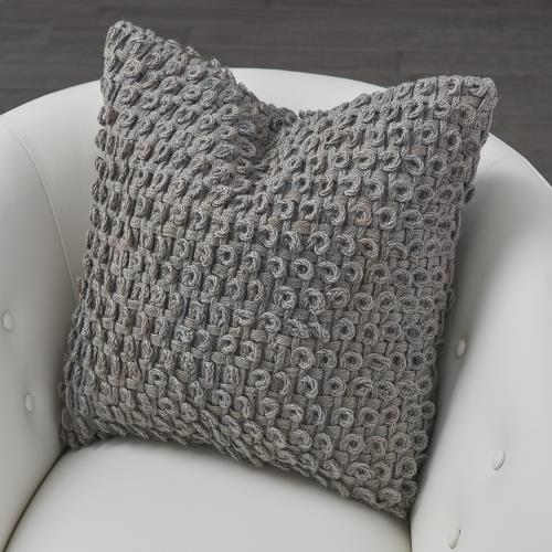 Loop Pillow - Grey