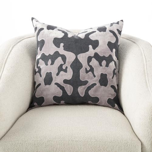 Ink Blot Pillow-Thistle
