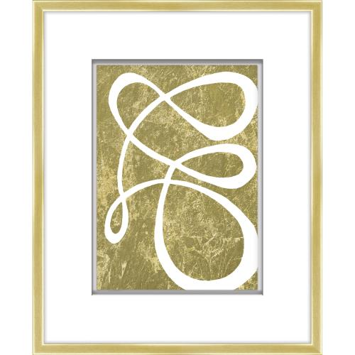 Gold Freeform Art