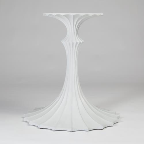 Flute Table Base-White-26