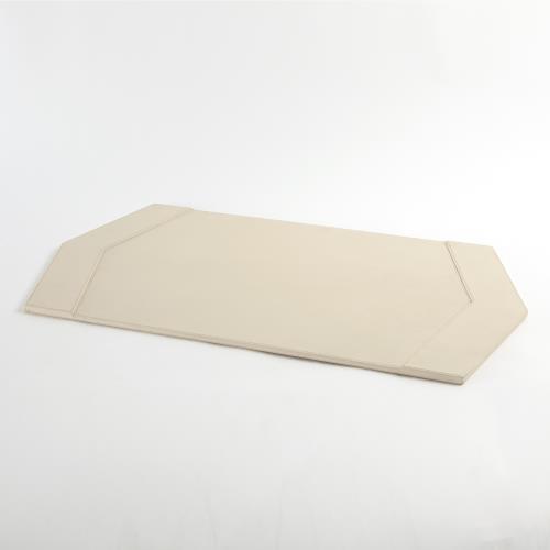 Tiffany Desk Blotter-Milk Leather