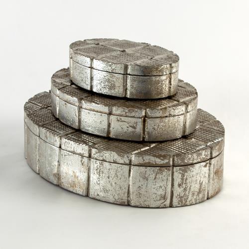 Cufflink Boxes-Silver