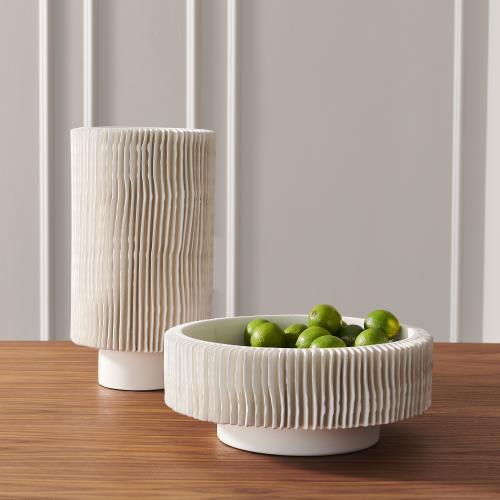 Radiator Vases - Matte White