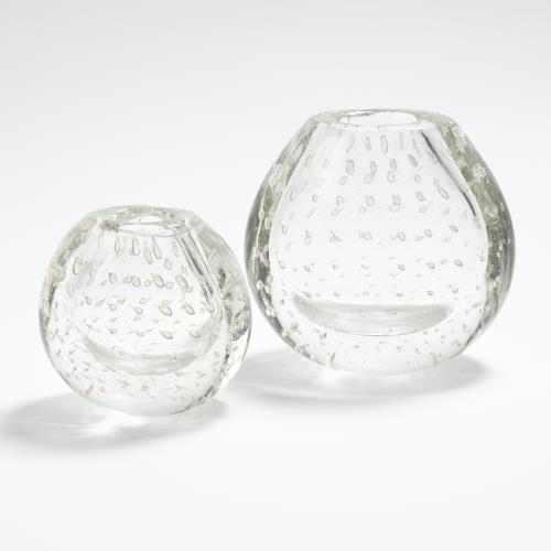 Bubble Vase-Clear