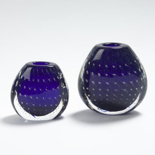 Bubble Vase-Blue