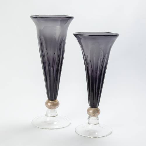 Trumpet Vase-Grey