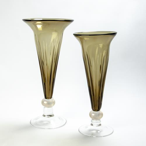 Trumpet Vase-Olive