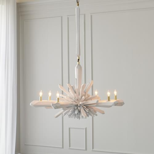 Facet Chandelier