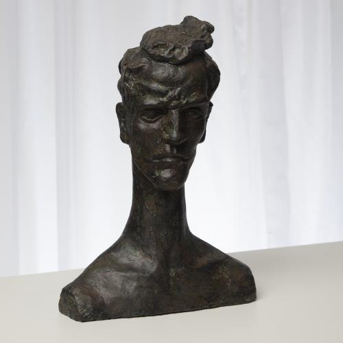 Human Form Sculpture-Bronze Verdi