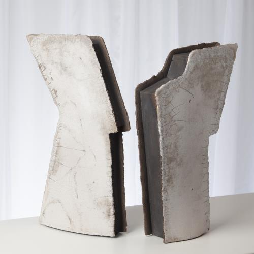 Wing Sculpture-Raku