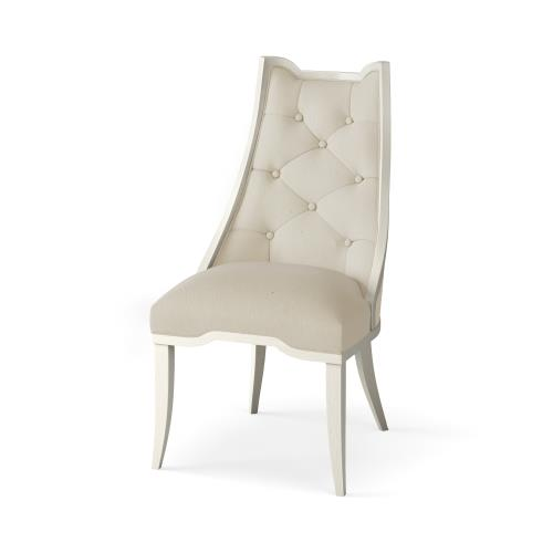 Logan Dining Chair-Antique White-COM