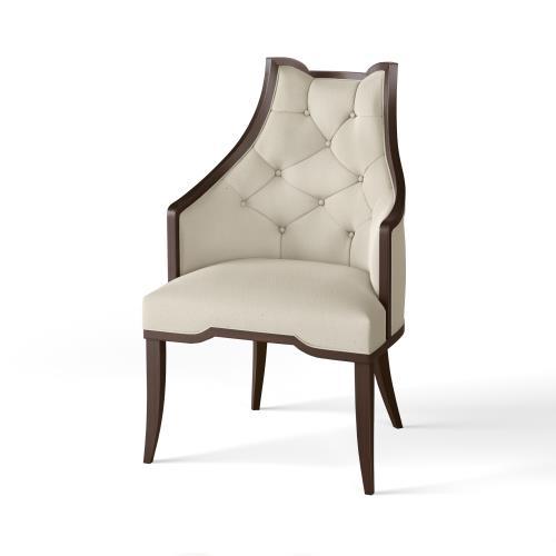 Logan Arm Chair-Walnut-COM