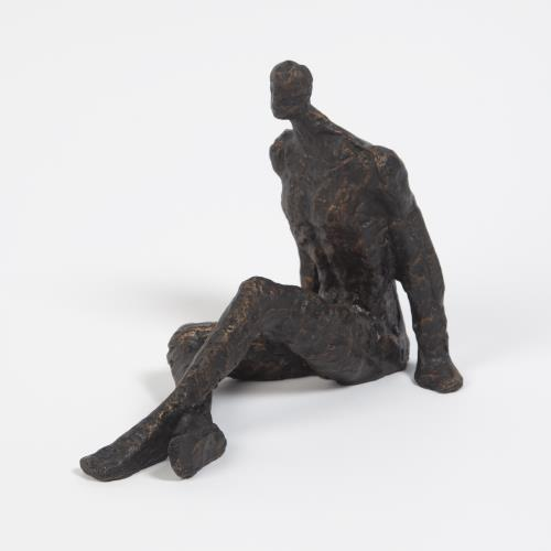 Sitting w/Legs Crossed-Bronze