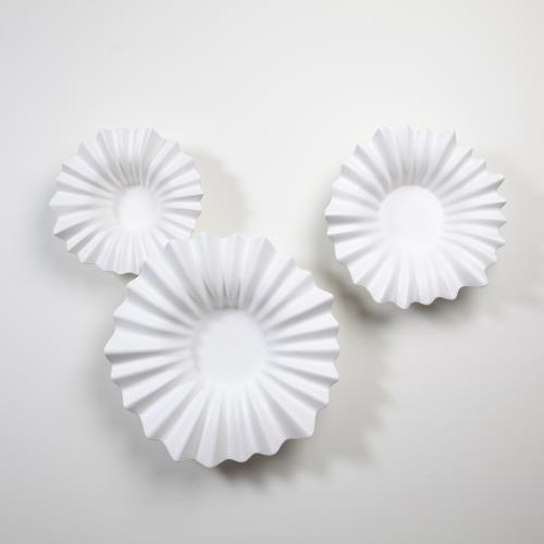 Wavy Bowls-White