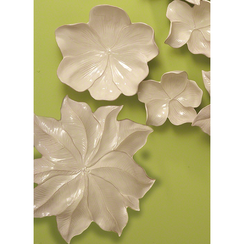 GLOBAL VIEWS | products | Magnolia Platter-Ivory