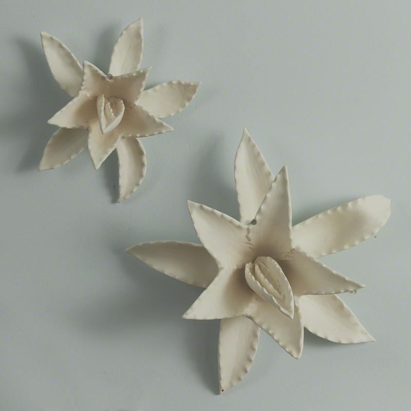 Agave Sculpture-Matte White