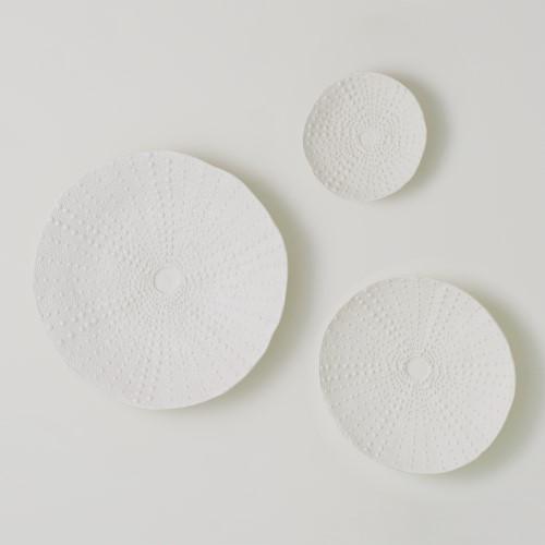 Ceramic Urchin Platter-Matte White