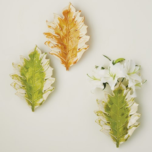 Tree Leaf Wall Plaque