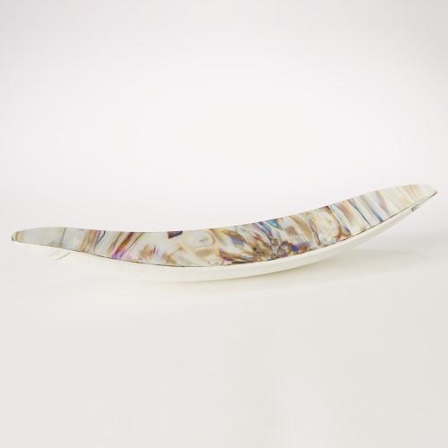 Ivory Spiral Gondola Bowl