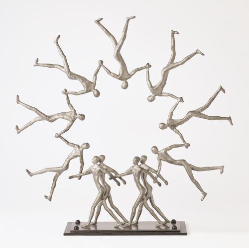 Figural Movement-Light Gunmetal