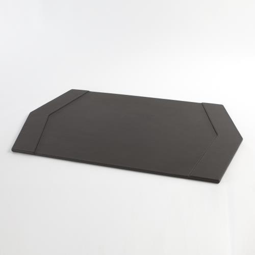 Tiffany Desk Blotter-Graphite Leather