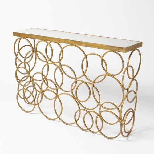 Ring Console-Antique Gold