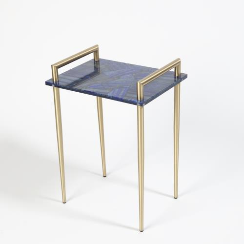 Lapis Handlebar Side Table