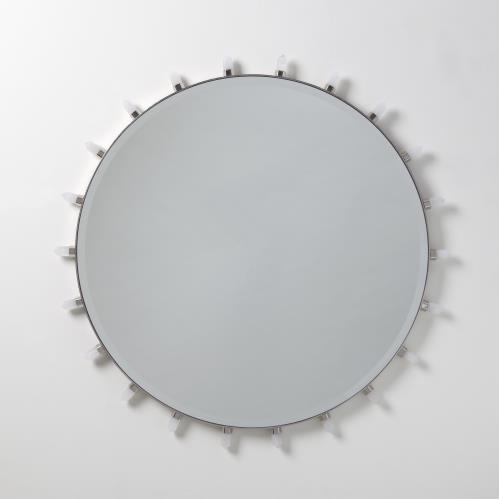 Lola Quartz Mirror-Nickel