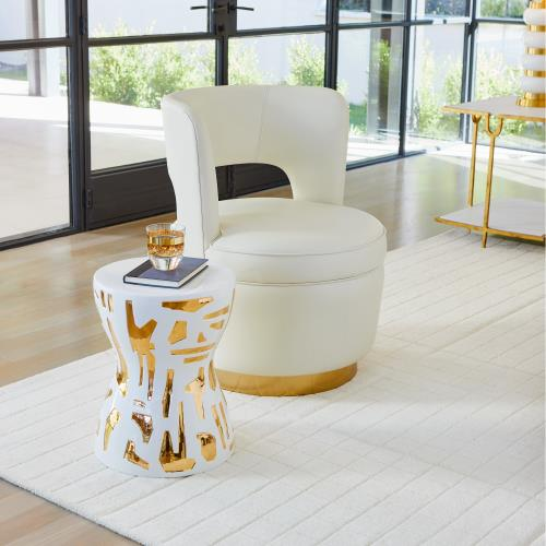 Cuff Link Rugs-Ivory