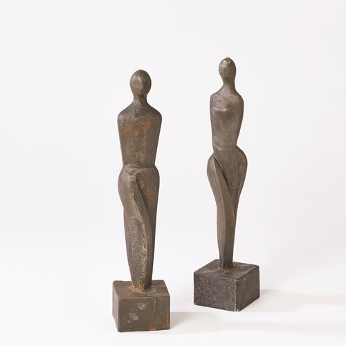 Male and Female Sculpture