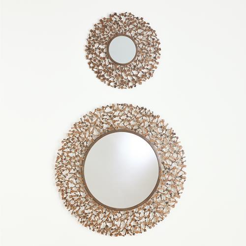 Keys To My Heart Mirror-Bronze