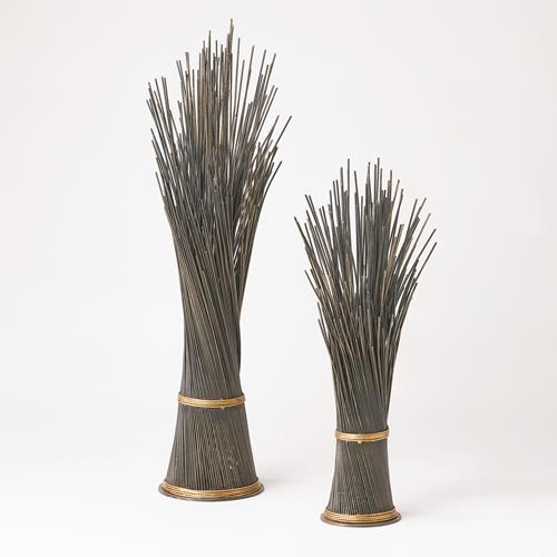Wire Sculptures-Bronze