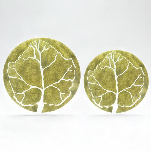 Parra Green Leaf Charger