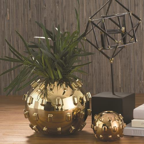 Thielo Vase-Gold