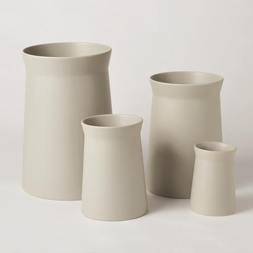Soft Curve Vase-Haze