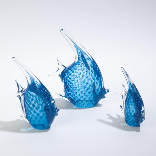 Angelfish-Cobalt Bubbles