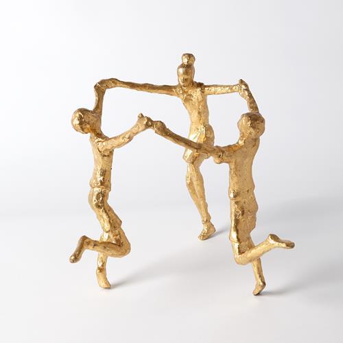 Children Sculpture-Gold Leaf